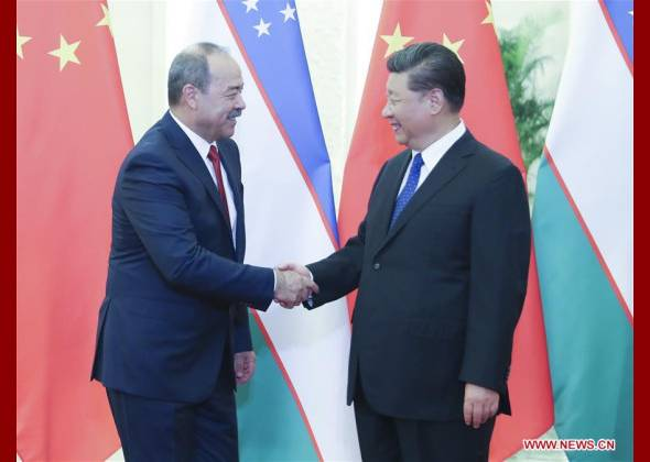Xi Asks China, Uzbekistan to P